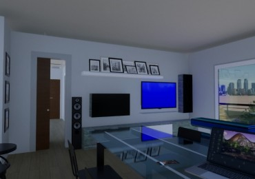 Departamento Dos dormitorios con balcón - Amenities - Posibilidad cochera - Financiación - Edificio en construcción - Zeballos 2500