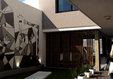 Deptos Un Dormitorio - Balcón o terraza exclusiva - Edificio en construcción - Entrega marzo 2021 - Terraza uso común con parrillero - Castellanos 448