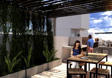 Duplex Dos Dormitorios - Terraza exclusiva y terraza uso común con parrillero - Edificio en construcción - Entrega marzo 2021 - Castellanos 448