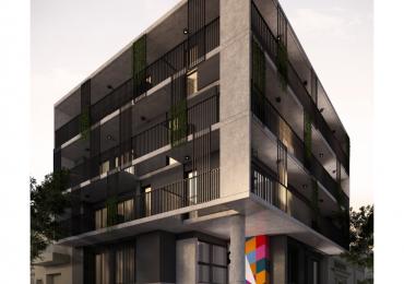 Monoambientes - Balcón o terraza exclusiva - Terraza uso común con parrillero - Edificio en construcción - Ricchieri 402