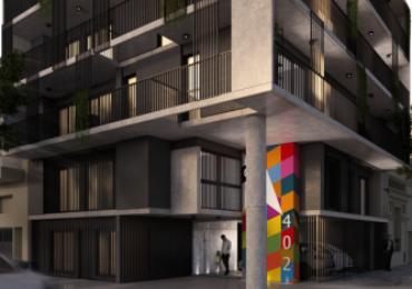 Cocheras. Edificio en construcción. Entrega junio 2022. Ricchieri 402